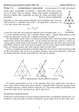 FYKOS, XXVII.V.4 trojúhelníkový odporníček