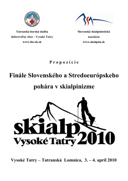 THSprop zmena - Tatranská horská služba