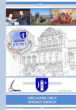 Občasník FEMA – vydanie Oktober 2013