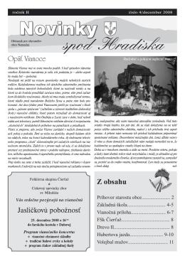 Obecné noviny 4/2008