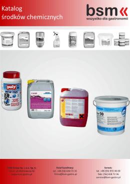 Katalog środków chemicznych