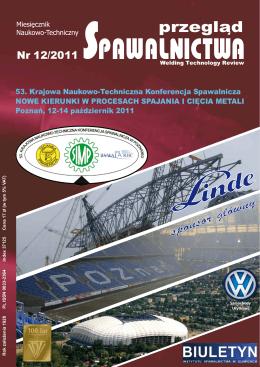 Przegląd Spawalnictwa 12/2011