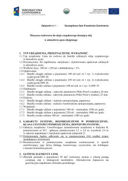 KŚT - Grupa 5 - Specjalistyczne maszyny, urządzenia i aparaty (2011)