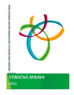 Výročná správa KOCR KK 2013