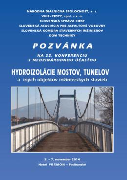 pozvánku - Slovenská cestná spoločnosť
