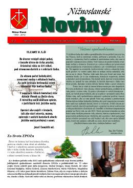 Nižnoslanské noviny 2-2012