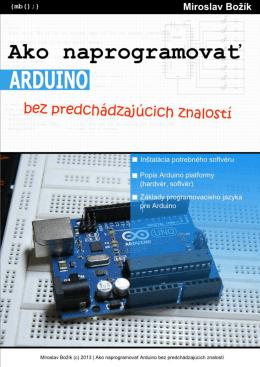 Ako naprogramovať Arduino