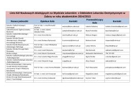 7. Innowacyjna medycyna w Polsce narzędzia stymuluj¹ce rozwój