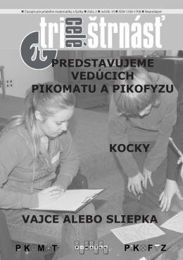 Časopis TriCeléŠtrnásť - P-MAT