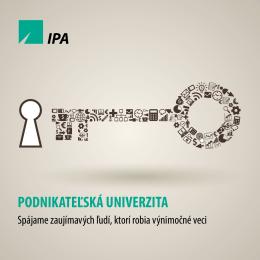 Podnikateľská univerzita 2014