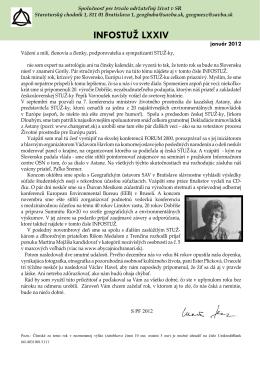 Info STUŽ 2012 [.pdf]