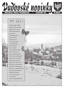 Vaďovské noviny 02/2012