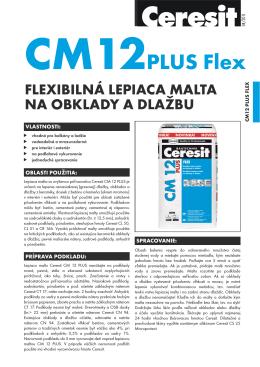 Ceresit CM 12 PLUS - Keramika Soukup SR