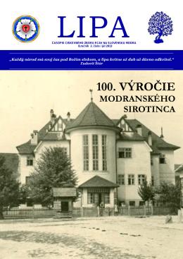 2 / 2013 - Cirkevný zbor ECAV na Slovensku