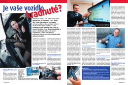 časopis Slovenka - Je vaše vozidlo kradnuté?