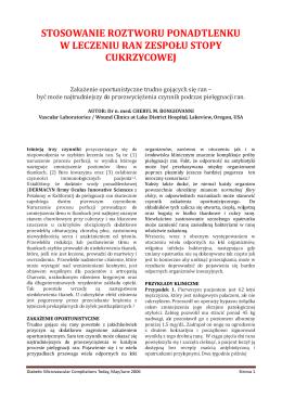 Microdacyn przykłady kliniczne