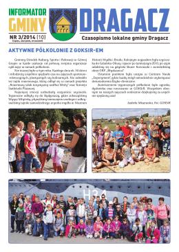 nr 3,wrzesień 2014 - Gminny Ośrodek Kultury, Sportu i Rekreacji w