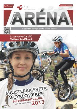 október 2013 - Sports & Training Centre Púchov