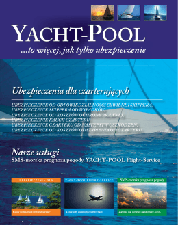 YACHT-POOL Flight-Service