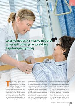 laseroterapia i pileroterapia w terapii odleżyn w praktyce