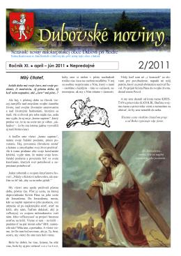 2/2011 - Dubová
