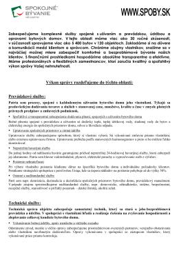 prezentácia služieb - skrátená verzia, formát PDF
