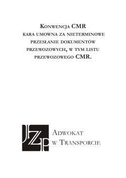 kara umowna CMR - Adwokat w transporcie