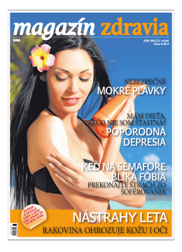 Jún 2013 - Magazín Zdravia