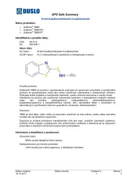 Sulfenax TBBS