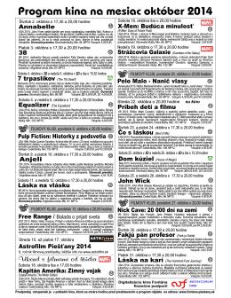 október 2014.pdf - Fontána