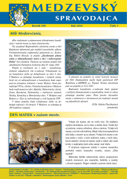 Medzevsky spravodajca 01_2014.indd
