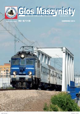 GM Nr 6/118 - Związek Zawodowy Maszynistów Kolejowych