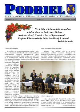2014-4 - Obec Podbiel