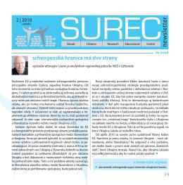 SUREC newsletter 2/2010 sk