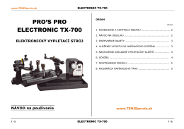 pro`s pro - TX-700