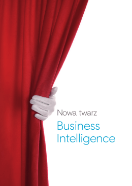 Nowa twarz Business Intelligence