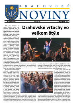 Vydanie - október 2012