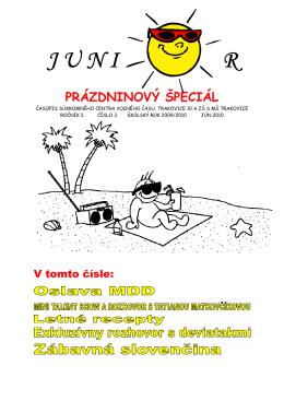 JUNIOR - 4 číslo