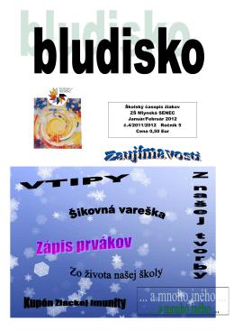 Ročník 5 č.4 2011/2012 - Základná škola • Mlynská 50, Senec