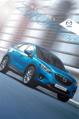 Stiahnuť brožúru modelu Mazda CX-5