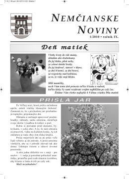 NEMčIANSKE NOVINY