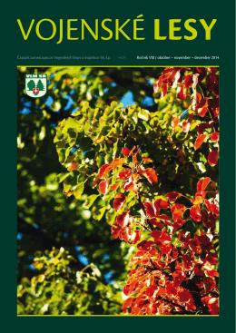 november – december 2014 - Vojenské lesy a majetky SR, š.p.
