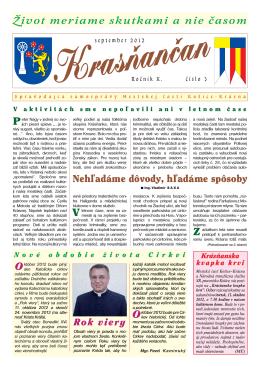 Krasňančan 0312 - Mestská časť Košice Krásna