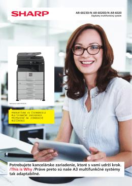 Prospekt AR-6020D pre tlač