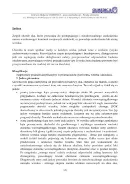 Jaskra - Centrum Medyczne OLMEDICA