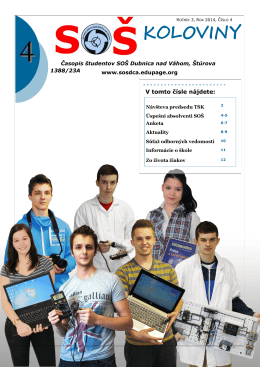 s š koloviny - Stredná odborná škola Dubnica nad Váhom