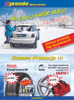 Zimowe Promocje !!! - Delon Serwis Wulkanizacja Słupsk