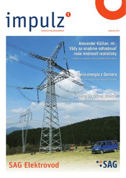 Impulz 1/2011 - SAG Elektrovod
