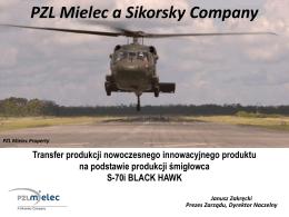 - Tytuł , - prezenter, Mocno podkreślone PZL Mielec a Sikorsky