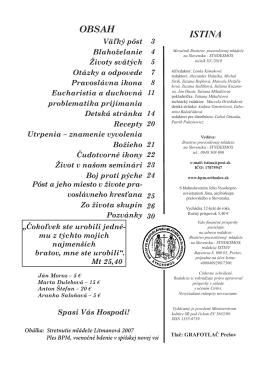 pozrieť / stiahnuť - Bratstvo pravoslávnej mládeže na Slovensku
